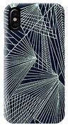 Geometric Pattern 1-colour-6 IPhone Case
