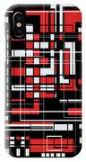 Geometric Stylization 2 IPhone Case