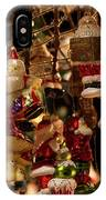 German Christmas Ornaments IPhone X Case