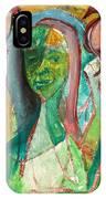 Girl In A Garden IPhone Case
