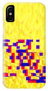 Glitched Love IPhone Case by Bee-Bee Deigner