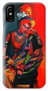Goddess Of Colors IPhone Case by Nizar MacNojia