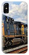 Going On A Train Ride IPhone Case