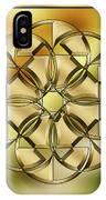 Gold Design 24 IPhone Case