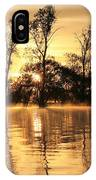 Golden Start IPhone Case