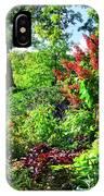 Gorgeous Gardens At Cornell University - Ithaca, New York IPhone Case
