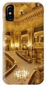 Grand Staircase Palais Garnier IPhone Case by Brian Jannsen