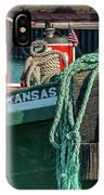 Great Lakes Towing Tug Kansas IPhone Case