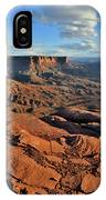 Green River Overlook Rim In Canyonlands Np IPhone Case