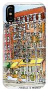 Greenwich Village Laundromat IPhone Case