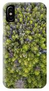 Grove Of Pines Aerial IPhone X Case