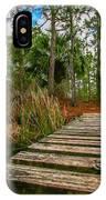 Halpatiokee Footbridge IPhone Case by Tom Claud