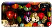 Handcrafted Lanterns In Ancient Town IPhone X Case
