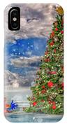 Happy Christmas Parrot IPhone Case