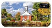 Harrisville, New Hampshire Church IPhone Case