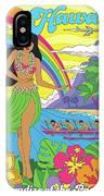 Hawaii Poster - Pop Art - Travel IPhone Case