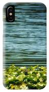 Heron In The Lily Pads IPhone Case