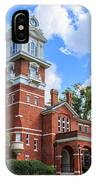 Historic Gwinnett County Courthouse IPhone Case by Doug Camara