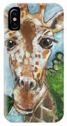 Hobbes Giraffe IPhone Case