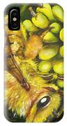 Honey Bee On Wild Golden Glow IPhone Case
