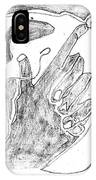 How The Camel Got His Hump Digital And Drawings D12-3 IPhone Case