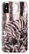 How The Leopard Got His Spots Zebra D16ed3 IPhone Case