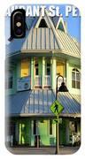 Hurricane Restaurant St. Pete Beach IPhone Case