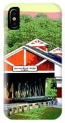 Huseston Woods Bridge IPhone Case