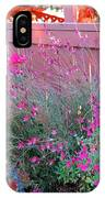 I Love My Flowers IPhone Case
