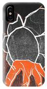 I Was Born In A Mine Woodcut 24 IPhone Case