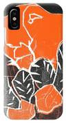 I Was Born In A Mine Woodcut 42 IPhone Case