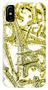 In French Forms IPhone Case