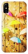 In Rainy Fashion IPhone Case