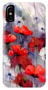 In The Night Garden - Sleeping Poppies IPhone Case