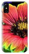 Indian Blanket Flower Closeup IPhone Case by JC Findley
