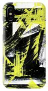 Industrial Abstract Painting II IPhone Case