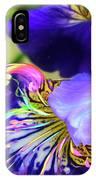 Iris Osirus IPhone Case by Cindy Greenstein