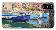 Italian Riviera Old Fashion Fishing IPhone X Case