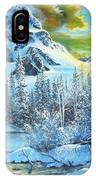 It's Out In The Winter IPhone Case