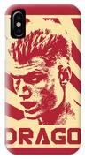 Ivan Drago Retro Propaganda IPhone Case