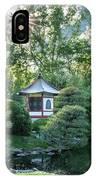 Japanese Garden #4 - Island Pagoda Vertical IPhone Case