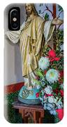 Jesus Christ With Flowers IPhone X Case