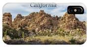 Joshua Tree National Park Box Canyon, California IPhone Case