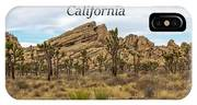 Joshua Tree National Park, California 03 IPhone Case