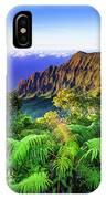 Kalalau Valley And The Na Pali Coast IPhone Case