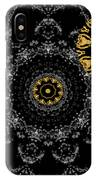 Kaleidoscope Moon For Children Gone Too Soon Number 2 - Faces And Flowers IPhone Case by Aberjhani