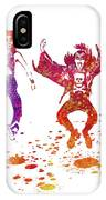 Kiss Band Watercolor Splatter 01 IPhone Case