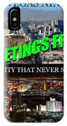 Las Vegas The City That Never Sleeps Custom Pc IPhone Case
