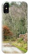 Late Leaves IPhone Case by Nick Bywater