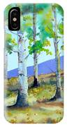 Late Summer Aspens IPhone Case